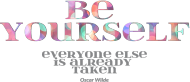 Be yourself - torba eko