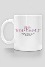 Be yourself - kubek