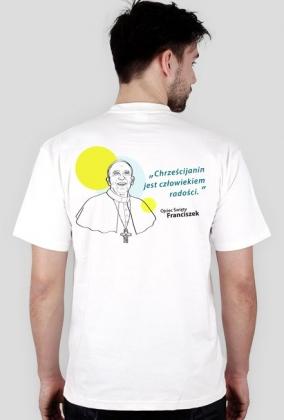 Koszulka Ojciec Franciszek (biel męska)