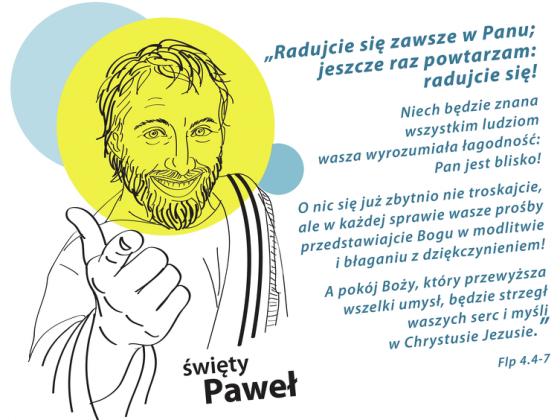Koszulka Paweł w.1 (biel męska)