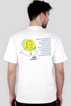 Koszulka Rafał (biel męska)