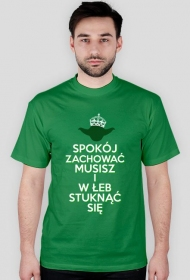 Koszulka Męska - Spokój