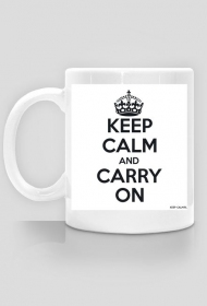 Kubek - KEEP CALM and CARRY ON