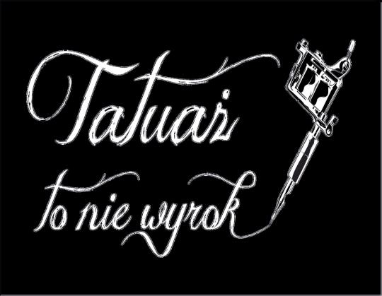Koszulka Tatuaż To Nie Wyrok Damska