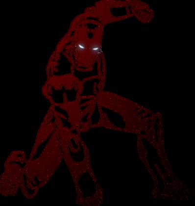 Iron Man (z odbiciem)