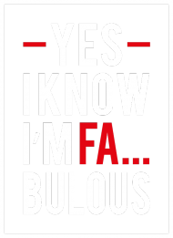 BLUZKA - YES I KNOW I'M FA... BOLOUS