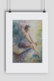 baletnica - plakat A2