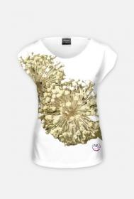 zimowy czas - czosnek - koszulka damska