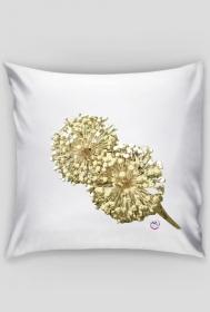 uroczy czosnek - poszewka na poduszkę