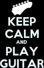 Keep Calm Damska Czarna