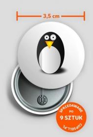 Przypinka Linux Fun