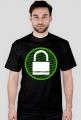Koszulka dla hakera KRYPTOGRAFIA