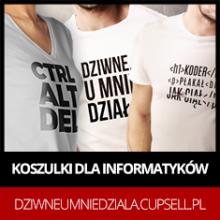 Sklep informatyka - Dziwne, u mnie działa - koszulki dla informatyków - koszulki dla osób, u których wszystko działa